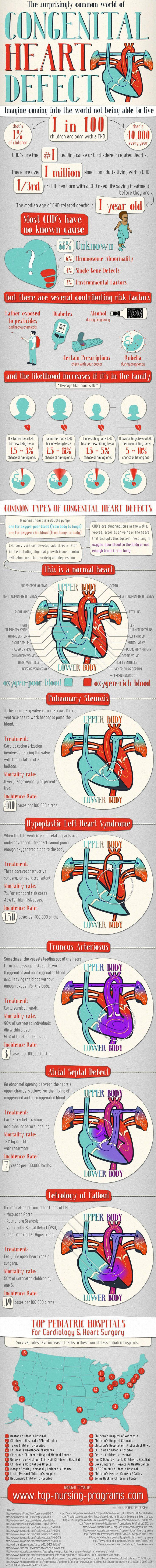 CHD infographic