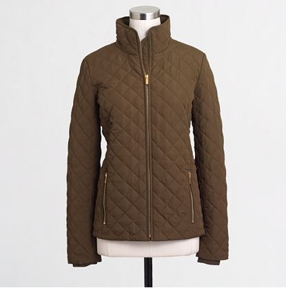jcrew quilted jacket