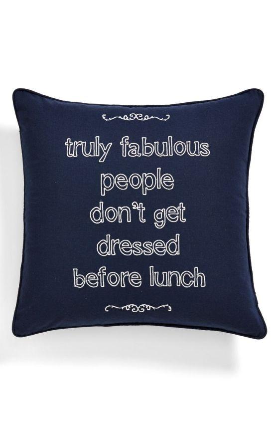 fabulous pillow