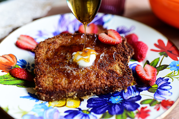 The Pioneer Woman's Crunchy French Toast