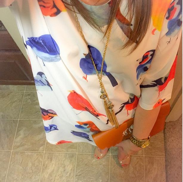 instagram-bird dress