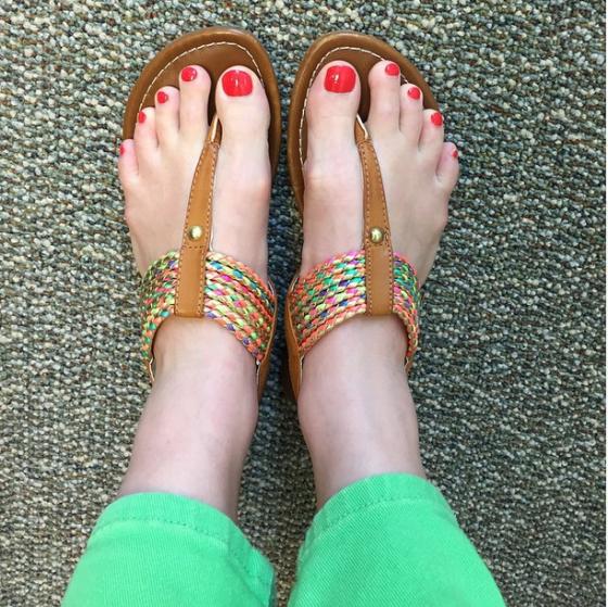 Instagram-sandals