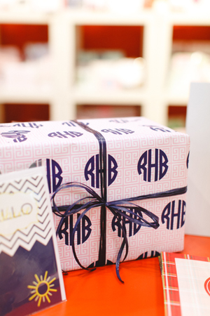 monogrammed-wrapping-paper