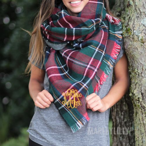 ML blanket scarf