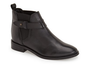 Nordstrom-black booties