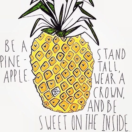 pineapple-print