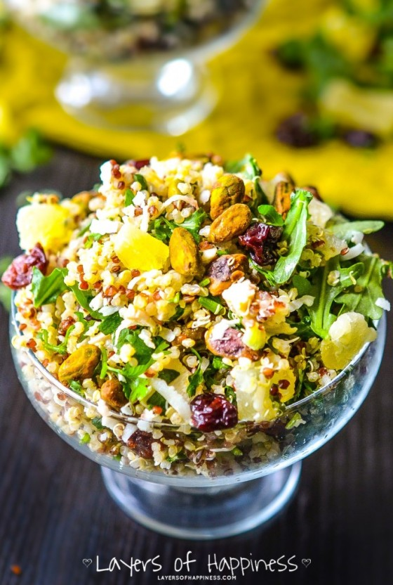 Pineapple-Chicken-Quinoa-Salad